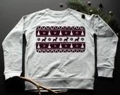 Sweatshirt pattern Christ...