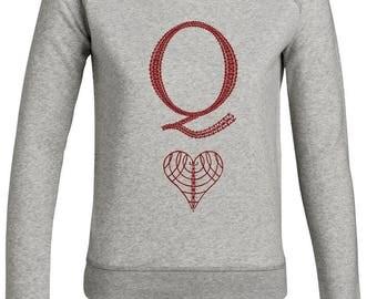 Capsule - Queen collection / sweatshirt.