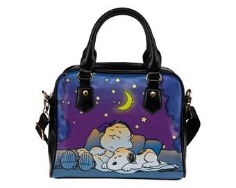 Snoopy  Women Shoulder Handbag