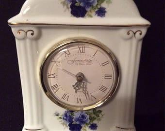 Formalities, Baum Bros.Vintage Porcelain Clock
