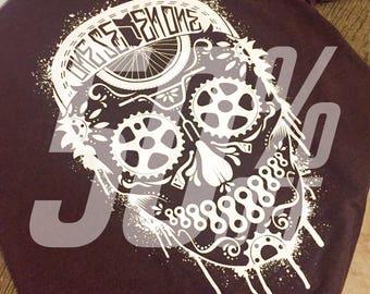 Rad BMX Skull Shirt