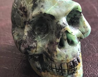"""2"""" African Turquoise Skull"""