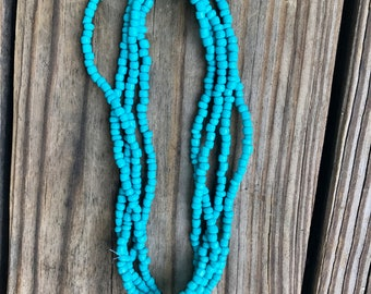 Turquoise Double-Wrap