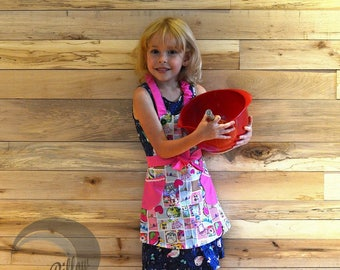 Cooking Apron for boys and girls- 2 pockets