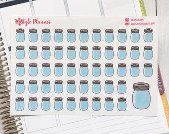 Blank | 52 Week Savings Challenge | Planner Stickers