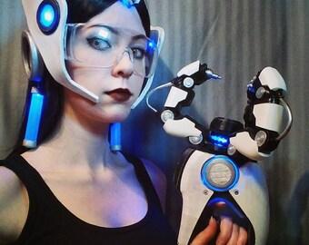 Cosplay Overwatch Symmetra Helmet