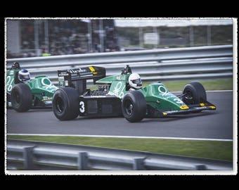 F1 Racing canvas Benetton #3 1994 motorsports art motorsport formula one 1