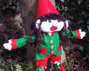 60cm woodland Pixie doll