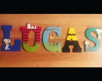 Snoopy/Peanuts Gang Letters