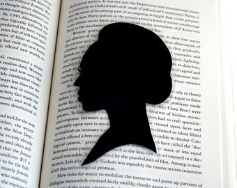 Beyonce Portrait Bookmark | Hand-Cut Silhouette