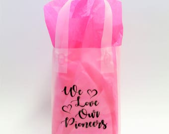 Gift Bags - We Love Our Pioneers (set of 6)