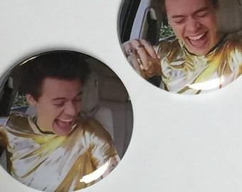 Harry Styles Carpool Karaoke 2017-Pinback Button Set