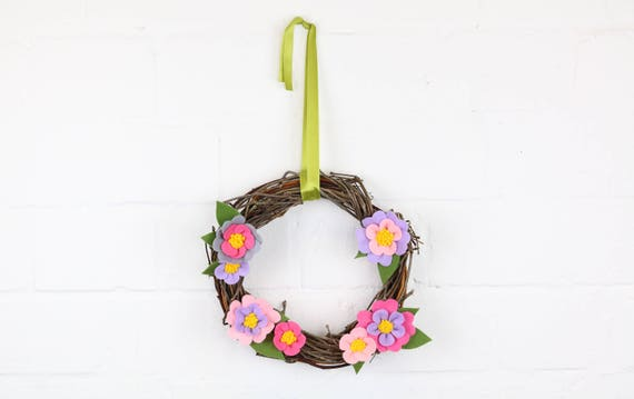 Easter Wreath floral wreath for the door inside or outside floral design