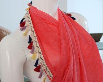 scarf,pareo,%100cotton,accessory