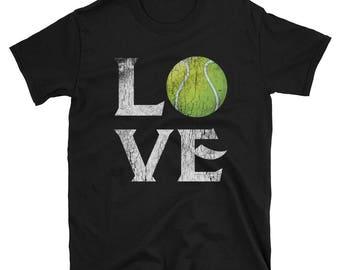 Love Tennis Short-Sleeve Unisex T-Shirt