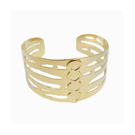 A DAY IN Arles/Museum of Arles Antique Cuff Bracelet, gold