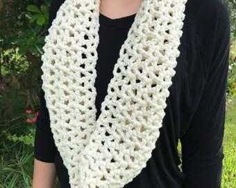 Scarf, Infinity scarf, cowl, crochet scarf, crochet cowl