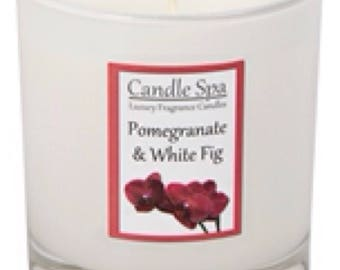 30cl (200g) candle - Pomegranate & White Fig