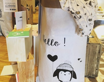 Paperbag xxl aux motifs toiles coeurs triangles enjoy for Meuble xxl allemagne