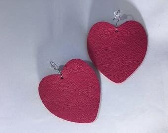 Puffy heart / magenta