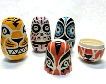 WISHKEEPERS - Ceramic box. Power artifact. Redy to send.