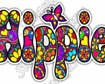 Woodstock decal etsy - Dessin peace and love ...
