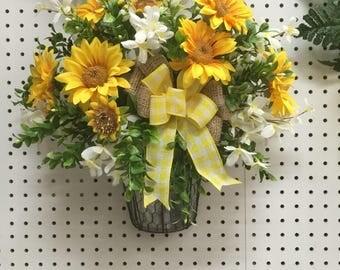 Sunflower arrangements