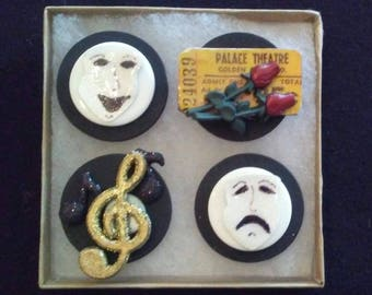 Theater and Drama Magnets