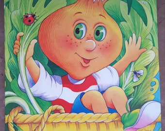 Amazing book tale for children baby kids russian