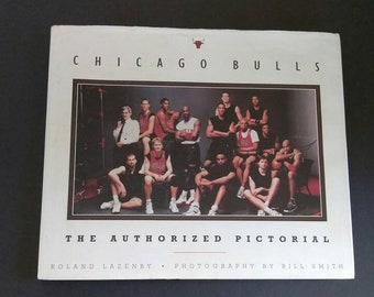 Chicago Bulls , The Authorized Pictorial , 1997 , Roland Lazenby ,  Basketball Book , Chicago Bulls Book ,
