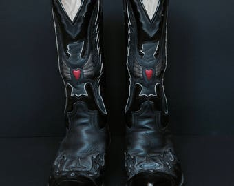 Sendra cowboy boots ! RARE with Heart