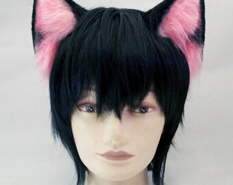 Neko ears + tail cosplay cat halloween costume