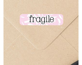 Fragile stickers, packaging labels, fragile labels, shipping labels, mail stickers, packaging stickers, handle with care 119