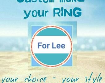 Custom make for Lee