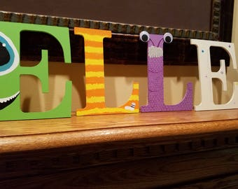 Monsters Inc Letters