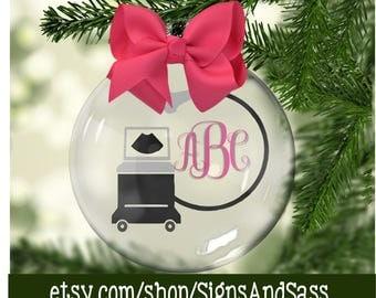 Ultrasound ornament | Etsy