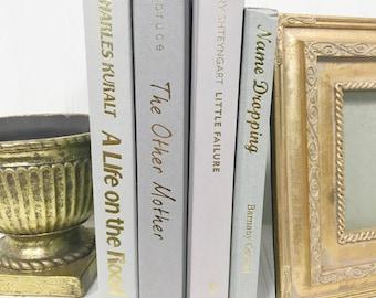 Gray Decorative Book Set