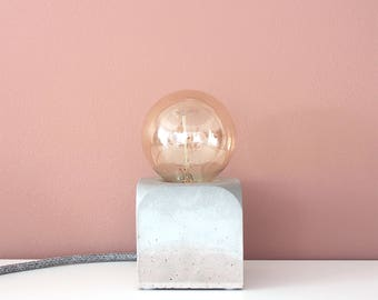 Concrete Table Lamp