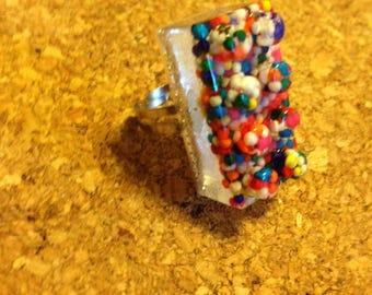 Handmade Lego Ring - Sprinkles