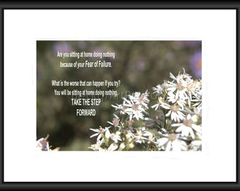 Take The Step Forward, Photography, Free Shipping, Print, Framed Print, Canvas Wrap, Canvas with Floating Frame, Wall Art, Home Decor