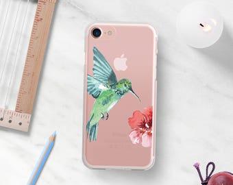 Hummingbird iPhone 6 Plus Case iPhone 7 Case iPhone 6 Plus Case Clear iPhone 6 Case iPhone 7 Case Clear Clear Phone Case iPhone SE Case