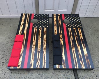 Thin Red Line Corn hole boards