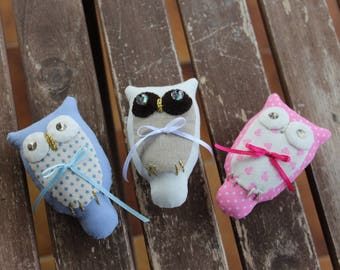 OWL. In different colors. Available upon reservation.