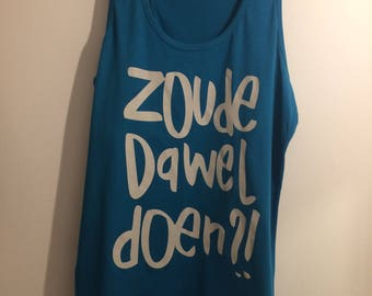 woman XS Apple blue zoudedaweldoen