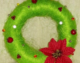 Christmas wreath Christmas 2018 gifts Gift for mom Christmas wreath for door Christmas decorations Christmas decor