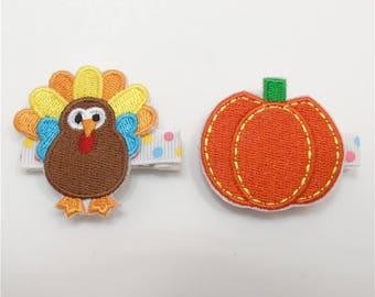halloween hair clips, fall hair accessories, holiday hair accessories, holiday clips, girls hair clips, thanksgiving, halloween decor