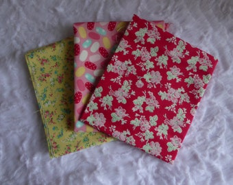 set of 3 matching kids patchwork Sweet shope BENARTEX fabrics