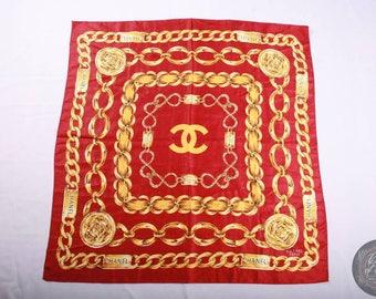 Very Rare Vintage Chanel Scarf