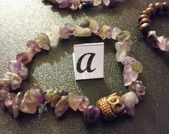 Amethyst genuine gemstone jewelry - part 1