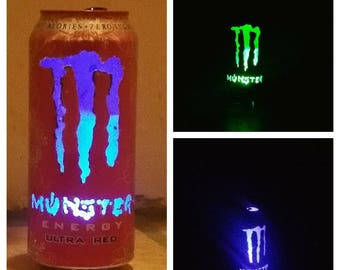 Monster Energy drink Can light, birthday, man cave